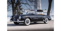 1958 Mercedes Benz #190SL. Pic taken at Fernandina Beach Golf Club. Sold for US$ 112,200 by http://www.bonhams.com / #BruceAdams190SL #190SLRestorations