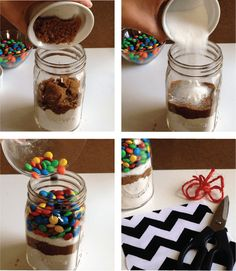 mason jar cookie recipes m&m