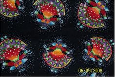 Laurel Burch Fabric HOLIDAY COLLECTION 2004 by minnesewtogether,