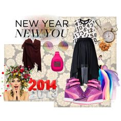 """""""New Year New Me"""" by hartantinora on Polyvore"""