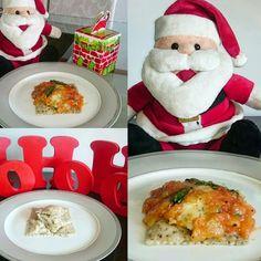 Papai Noel veio experimentar nossas massas. massa fresca massa artesanal natal #emassabr  sem ovo sem gluten sem lactose comida de verdade