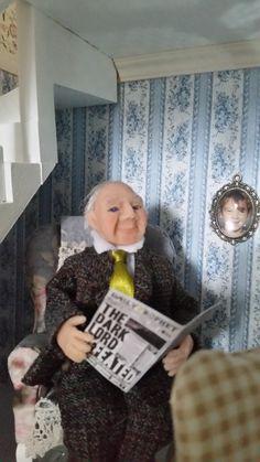 Mr Forsgren in his relax room