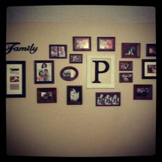 Our picture wall!