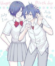Ayato and Touka