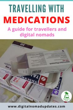 How to prepare for longer international journeys if you need to take medications over international borders? How to find your medications in other countries? See this guide to find the answers. Digital Nomad, Countries, Travel Tips, Finding Yourself, Journey, Medical, Travel Advice, Medicine, The Journey