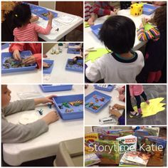 (I want to take this moment to thank Abby at Abby the Librarian immensely for her Preschool Lab Dinosaur science program where I got most of my ideas.) Today's storytime began with another se… Science Activities For Toddlers, Preschool Science, Toddler Preschool, Steam Learning, Science Programs, Teen Programs, Library Science, Little Learners, Story Time
