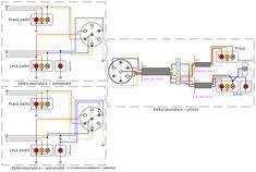 Schéma zapojení elektroinstalace přívěsu