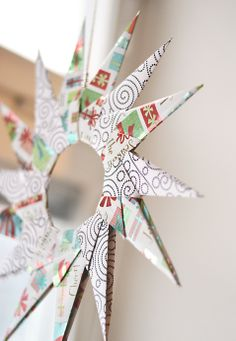 make with christmas paper