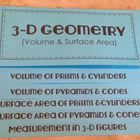 $4-Make my own?This foldable is organized into 5 tabs:    Volume of Prisms & Cylinders  Volume of Pyramids & Cones  Surface Area of Prisms & Cylinders  Sur...