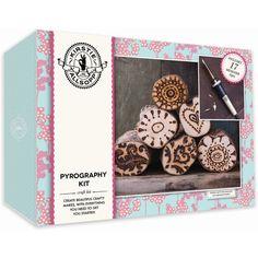 Kirstie Allsopp Pyrography Kit | Hobbycraft