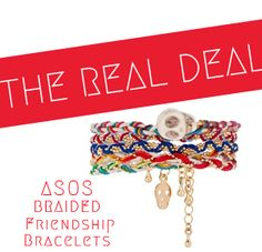 Quiet Lion Creations by Allison Beth Cooling: ASOS Braided Friendship Bracelets