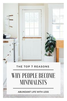 I questioned real, live minimalists to learn exactly why people become minimalists. Here is what I uncovered… #WhyMinimalism #howtobecomeaminimalist #simpleliving #minimalism