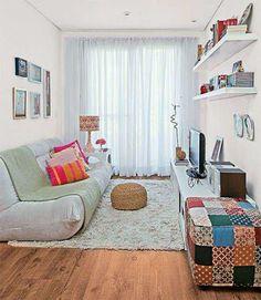 Dcore você | Decoração de sala simples e barata – 10 inspirações | http://www.dcorevoce.com.br