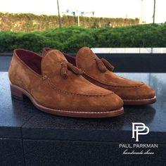 Paul Parkman Suede Tassel Loafers For Men . Mens Suede Tassel Loafers, Suede Shoes, Loafer Shoes, Loafers Men, Oxfords, Sock Shoes, Men's Shoes, Shoe Boots, Male Shoes