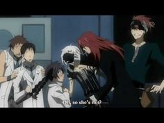 D.Gray-Man, I laughed way to hard at this, but I can't help it, Ha Ha Ha!