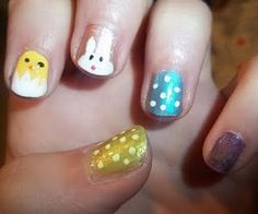 easter fingernails #nailtips