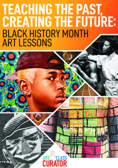 Posts and resources with artworks by black artists, civil rights art, African art, art projects, and more to teach Black History art lessons. World History Lessons, History For Kids, History Projects, History Books, Art Projects, Teaching History, History Major, History Education, Teaching Art