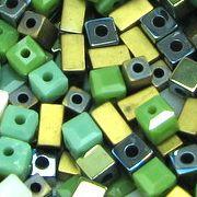 perles cubes et rectangles