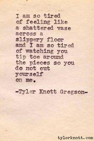 Typewriter Series #39 by Tyler Knott Gregson