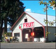 Draper Girls Farm on the Hood River County Fruit Loop.  About 3 miles from the Old Parkdale Inn Bed and Breakfast