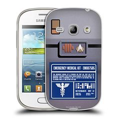 Official Star Trek Medical Kit Gadgets TNG Soft Gel Case for Samsung Galaxy Fame S6810 ** Check out the image by visiting the link. (Note:Amazon affiliate link)