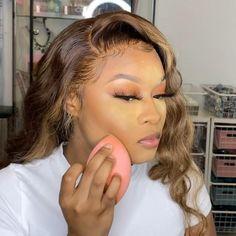 Beat Face Makeup, Makeup For Black Skin, Black Girl Makeup, Full Face Makeup, Face Beat, Makeup Eyes, Girls Makeup, Hair Makeup, Simple Makeup Tutorial