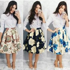 Trendy Ideas For Moda Evangelica Jovem Congresso Jw Fashion, Modest Fashion, African Fashion, Fashion Dresses, Womens Fashion, Fashion News, Modest Outfits, Skirt Outfits, Classy Outfits