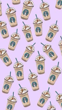 かわいいスタバのフラペチーノ iPhone壁紙 Wallpaper Backgrounds iPhone6/6S and Plus Starbucks