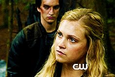 I think Clarke is thinking about what she wants to do to Bellamy.