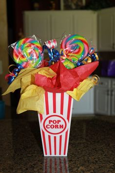 15 learn how to make cheap and easy gift baskets for family and friends 1 Carnival Themed Party, Carnival Wedding, Carnival Birthday Parties, Circus Birthday, Circus Party, 1st Birthday Parties, Birthday Ideas, Carnival Party Favors, 70 Birthday