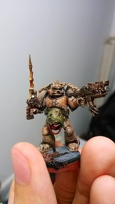 Chaos Space Marines, Conversion, Kitbash, Nurgle, Plaguebearers, Space, Wolves