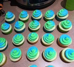 Earth Day cupcakes!