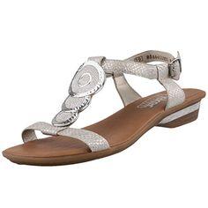 0c785afb755 Rieker 63478-80, Women's Open Toe Sandals, Silver (Silver), 3.5 UK (36 EU)