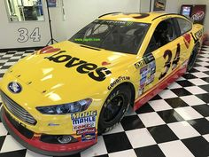 Jayski's® NASCAR Silly Season Site - 2017 Monster Energy NASCAR Cup Series #34 Paint Schemes