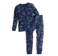 glow-in-the-dark pajamas
