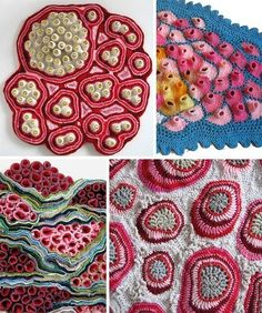 Crochet Sculpture Art - Emily Barletta.