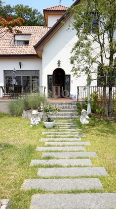 Workspace Design, Pathways, Sidewalk, Landscape, Interior, Korea, Garden, House, Scenery
