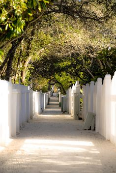 Seaside, FL - Private walkways