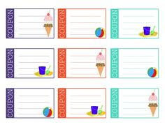Free Printable Summer Reading Chart & Reward System for Kids