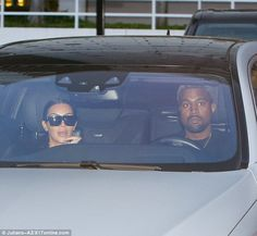 Making moves:The power couple also arrived in style as they drove up in a silver Maybach sedan which sells for about $200,000