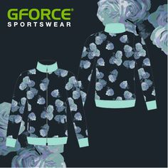 Florals feature on this ladies training top to create a strong stand out look Team Wear, Training Tops, Design Your Own, Florals, Shirt Dress, Create, Lady