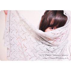 Breez stole - Maria Leigh' Design