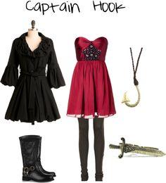 """Captain Hook"" by adisneygirl ❤ liked on Polyvore"