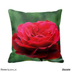 Flower Throw Pillows