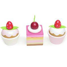 Set de 3 pasteles de madera - Le Toy Van