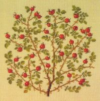 Gallery.ru / Фото #24 - Flowers and Berries in Cross Stitch - Mosca
