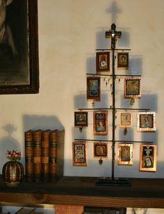 Tree of Saints Shrine of Retablos and Icons