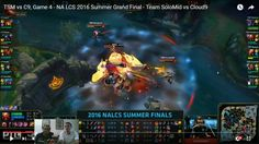 awesome NA LCS Finals VOD Review: TSM vs C9 Sport four