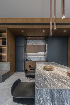 Apartmán FHM Bachelor okouzluje úchvatným výhledem na Bangkok   Insidecor - Design jako životní styl Luxury Homes Interior, Luxury Home Decor, Luxury Apartments, Modern Interior Design, Interior Design Kitchen, Modern Decor, Kitchen Decor, Design Studio, House Design