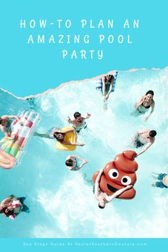 Pool parties are a fantastic way to cool off during the hot summer months and celebrate with friends and family by your side. Pool parties b. Sit Back, Join, Party Ideas, In This Moment, How To Plan, Cool Stuff, Amazing, Cool Things, Fete Ideas